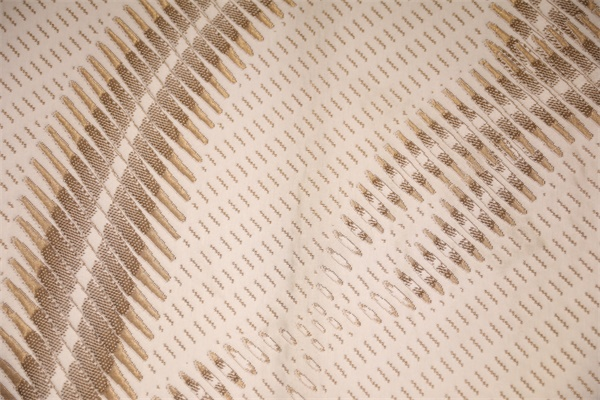 Brown bark asks for double-sided knitted air layer