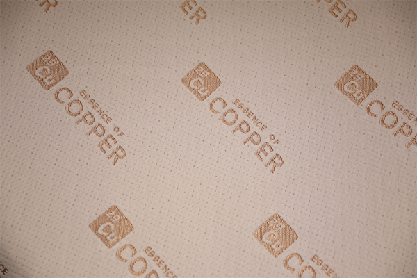Copper ion antibacterial knitted air layer