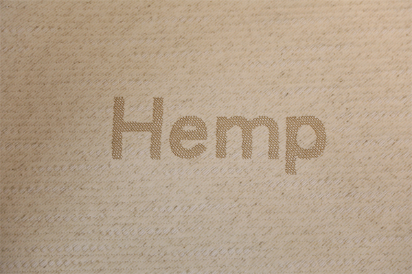 Hemp knitted air layer