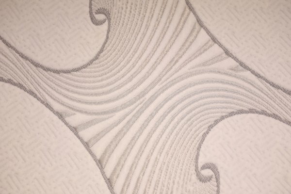 Is the air layer fabric knitted?